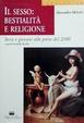 Cover of Il sesso: bestialità e religione