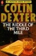 Cover of The Riddle of the Third Mile