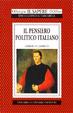 Cover of Il pensiero politico italiano
