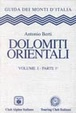 Cover of Dolomiti Orientali - Volume I Parte 1