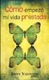 Cover of Cómo empezó mi vida prestada