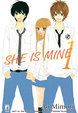 Cover of She is mine vol. 1