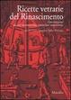 Cover of Ricette vetrarie del Rinascimento