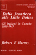 Cover of Dalla frontiera alle little Italies