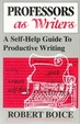 Cover of Professors As Writers