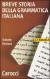 Cover of Breve storia della grammatica italiana