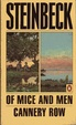Cover of Of Mice and Men; Cannery Row
