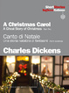 Cover of A Christmas Carol / Canto di Natale