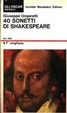 Cover of 40 sonetti di Shakespeare