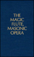 Cover of The Magic Flute, Masonic Opera