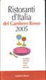 Cover of Ristoranti d'Italia del Gambero Rosso 2005