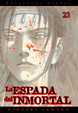 Cover of La espada del inmortal, nº 23