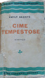 Cover of Cime tempestose
