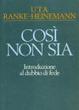 Cover of Così non sia