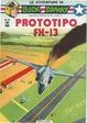Cover of Le Avventure di Buck Danny: Prototipo FX-13