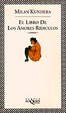 Cover of El libro de los amores ridiculos