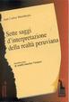 Cover of Sette saggi d'interpretazione della società peruviana