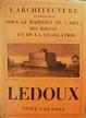 Cover of L'architecture considérée sous le rapport de l'art, des moeurs et de la législation
