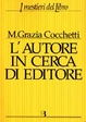 Cover of L' autore in cerca di editore