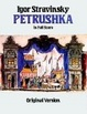 Cover of Petrushka in Full Score, Original Version
