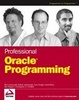 Cover of Professional Oracle Programming