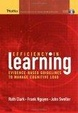 Cover of Efficiency in Learning
