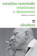 Cover of Relativismo e democrazia
