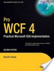 Cover of Pro WCF 4: Practical Microsoft SOA Implementation