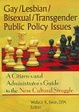 Cover of Gay/Lesbian/Bisexual/Transgender Public Policy Issues