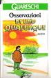 Cover of Osservazioni di uno qualunque