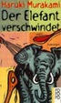Cover of Der Elefant verschwindet