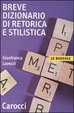 Cover of Breve dizionario di retorica e stilistica