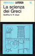 Cover of La scienza dei Greci
