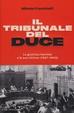 Cover of Il tribunale del Duce