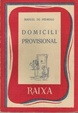 Cover of Domicili provisional