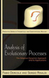 Cover of Analysis of Evolutionary Processes