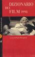 Cover of Dizionario dei Film 1998