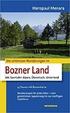 Cover of Die schönsten Wanderungen im Bozner Land