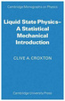 Cover of Liquid State Physics