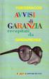 Cover of Avvisi di garanzia