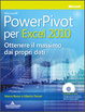 Cover of Microsoft PowerPivot per Excel 2010