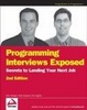 Cover of Programming Interviews Exposed