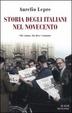 Cover of Storia degli italiani nel Novecento