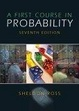 Cover of A First Course in Probability
