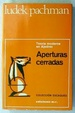 Cover of Aperturas cerradas