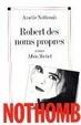 Cover of Robert des noms propres