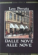 Cover of Dalle nove alle nove