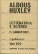 Cover of Letteratura e scienza