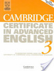 Cover of Cambridge Certificate in Advanced English 3 Student's Book