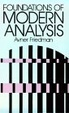 Cover of Foundations of Modern Analysis